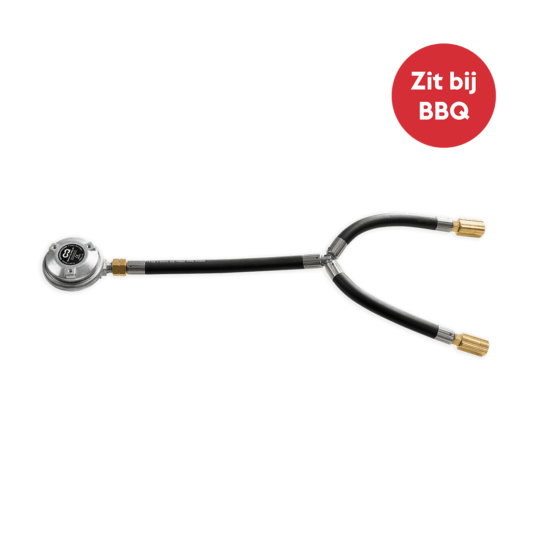 nomadiQ BBQ Gasslang en gasdrukregelaar