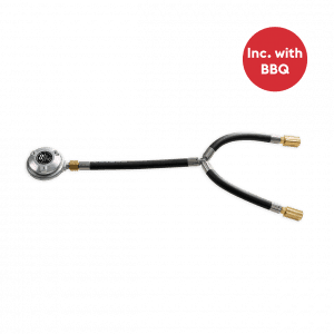 nomadiQ BBQ Gas hose and gas pressure regulator